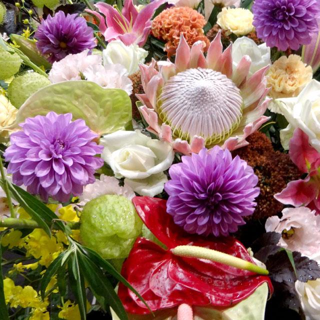 スタンド花 東京 おまかせスタンド花 ネイティブフラワーイーダ