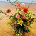 舞台花 楽屋花 アレンジメント 二子玉川の花屋ネイティブフラワーイーダ