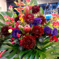 開店祝い 花 東京 アレンジメント 二子玉川の花屋
