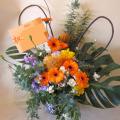 公演祝い 花 お祝い花 二子玉川の花屋 アレンジメント ネイティブフラワーイーダ