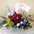 楽屋花 アレンジメント 二子玉川の花屋 ネイティブフラワーイーダ