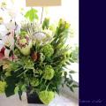 開店祝い花 アレンジメント 二子玉川の花屋ネイティブフラワーイーダ