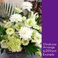 お祝い花 おまかせアレンジ6000 二子玉川の花屋ネイティブフラワーイーダ