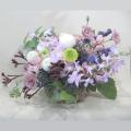 ブラウントルコキキョウのお供え花
