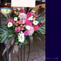 開店祝い レストラン カフェオープン スタンド花 東京 ネイティブフラワーイーダ
