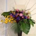 公演祝いスタンド花 二子玉川の花屋 ネイティブフラワーイーダ