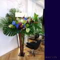 お祝いスタンド花 開店祝い 公演祝い 移転祝いの花