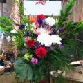 お祝いスタンド花 クリスマスシーズンスタンド