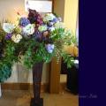 開店祝い ネイティブフラワー スタンド花 グリーンガーベラ