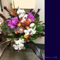 胡蝶蘭 移転祝いスタンド花 縁起の良い花言葉