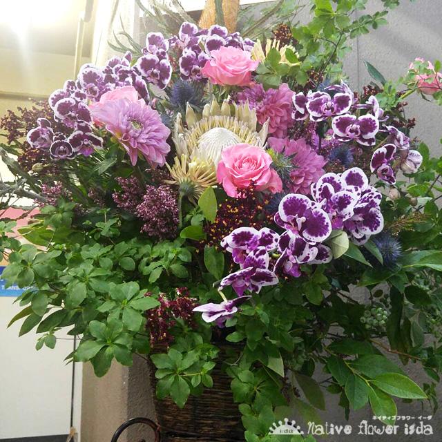 お祝い花 スタンド花 公演祝い花 ネイティブフラワーイーダ