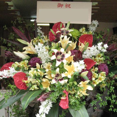 お祝いスタンド花 ハワイアン