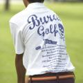 [BURAI GOLF] ブライ・ゴルフ 剣クラブポロシャツ BG−SP014