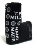 パターカバー TPミルズ ヘッドカバー ハンドメイド クロス ドット  限定  レザー パターカバー T.P. MILLS HANDMADE CROSS DOTS  PUTTER COVER