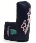 TP MILLS パターカバー  パターカバー TPミルズ ヘッドカバー ネイビー ピンク  TP MILLS PUTTER COVER NAVY PINK