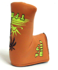TP MILLS パターカバー TPミルズ ヘッドカバー  TP MILLS PUTTER COVER PALM TREE
