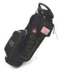 アーミーベースコレクション  スタンドバッグ ブラック ARMY BASE STAND BAG Stealth Black キャディバッグ