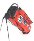 アーミーベースコレクション ARMY BASE スタンドバッグ オレンジ ABC031SB クラブケース一体型 キャディバッグ