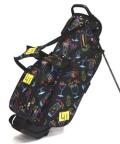 送料無料 LOUDMOUTH  Golf Bag  ラウドマウス  スタンドバッグ 8.5インチ LM-CB0010 215 ネオン カクテル (Neon Cacktails)  Loudmouth キャディバッグ 軽量
