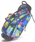 送料無料 LOUDMOUTH  Golf Bag  ラウドマウス  スタンドバッグ 8.5インチ LM-CB0010 224 ワイルドフラワー (Wild Flower)  Loudmouth キャディバッグ 軽量