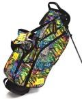 送料無料 LOUDMOUTH  Golf Bag  ラウドマウス  スタンドバッグ 8.5インチ LM-CB0010 219 サファリ (Safari)  Loudmouth キャディバッグ 軽量