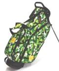 送料無料 LOUDMOUTH  Golf Bag  ラウドマウス  スタンドバッグ 8.5インチ LM-CB0010 (223 スウィンガーズカモ)  Loudmouth キャディバッグ 軽量