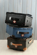 kinoshohampu×HOKUTAN ソフトトップトロリー(機内持ち込みOKサイズ 木の庄帆布xホクタン社 トラベルケース トランクバッグ キャリーバッグ