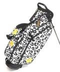 送料無料 LOUDMOUTH  Golf Bag  ラウドマウス  スタンドバッグ 8.5インチ LM-CB0010 286 Snow Leopard   Loudmouth キャディバッグ 軽量