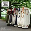 Kinosho Transit 木の庄帆布 キャディバッグ カートバッグ  クロスハンドル キャディバッグ KHG18-CB01H