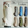 木の庄帆布 キャディバッグ カートバッグ キャディパイプバッグ  Kinosho Transit  THE CART BAG  Caddie Pipe Bag  KHG21-CPB01W