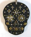 メキシカン スカル パターカバーホルダー スワロフスキー ダイヤモンド仕様 008