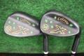 キャロウェイゴルフ Callawy Golf X FORGED ウエッジ ノーメッキ 黒染め USED 52° 56°セット
