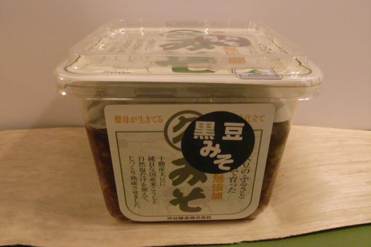 渋谷醸造 マルキュウ黒豆みそ(500g)<冷蔵>