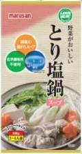 マルサン 野菜がおいしいとり塩鍋スープ 600g