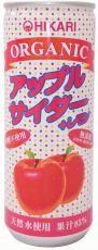 ヒカリ オーガニックアップルサイダー+レモン 250ml
