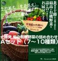 十勝発 旬の有機野菜の詰め合わせ Aセット(7〜10種類)【予約販売(季節限定)】<冷蔵>※現在土曜日出荷のみとなっております。