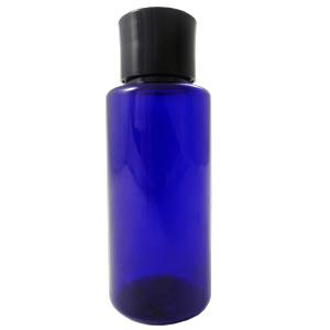 PETボトル コバルトブルー(青) 50ml *化粧水用中栓付き