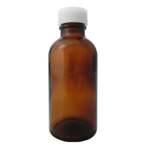 遮光ガラス瓶 140ml *穴あき中栓
