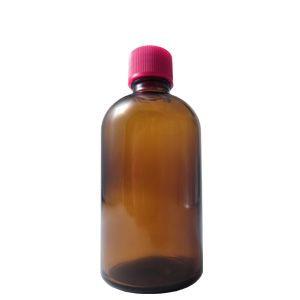 細口ガラス瓶 70ml *穴なし中栓