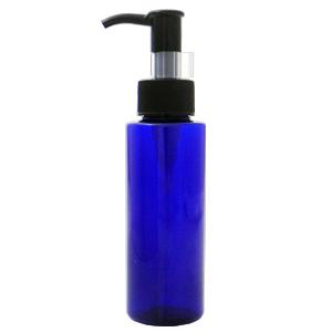 PETボトル ポンプ コバルトブルー(青) 100ml