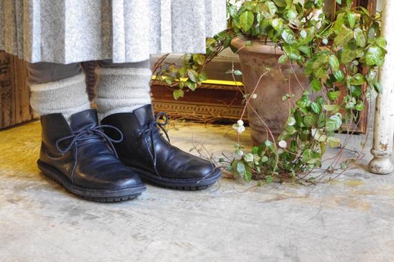 サーモヘア ゴムなし靴下