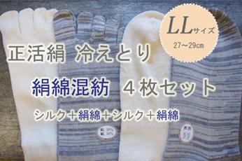 絹綿セットLL