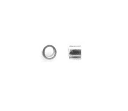 スターリングシルバー925/つぶし玉(かしめ玉)【2mm×1mm】(2.7g入/約200個相当)