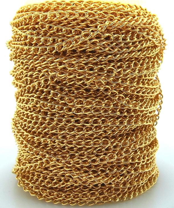 アジャスター用チェーン(喜平チェーン2.7mm)5メートル「14kgf」(1本)
