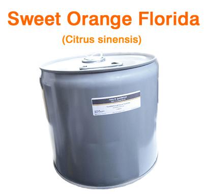 スイートオレンジ(アメリカ・フロリダ州産)/精油25lbs(約11kg)