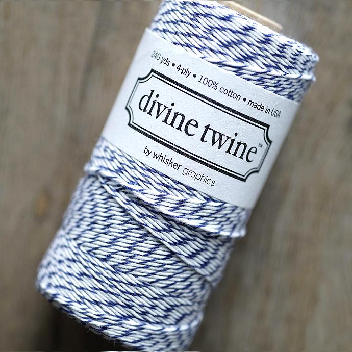 ディバイントワイン/ベーカーズトワイン「コットンコード」「Whisker Graphics社」【ブルーベリー】約219メートル(3巻)