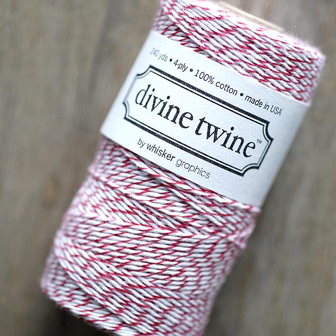 ディバイントワイン/ベーカーズトワイン「コットンコード」「Whisker Graphics社」【チェリー】約219メートル(1巻)