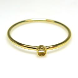 14kgf指輪空枠 リング ベゼル ラウンド2mm (サイズ目安:13号)ゴールドフィルド(1個)
