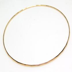 14kgfバングル ハンマード ブレスレット(ゴールドフィルド)(7.5インチ/19センチ)(1本)