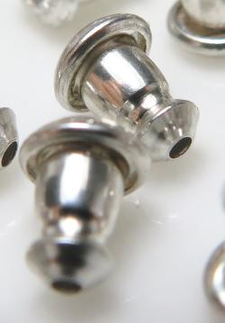 ピアスキャッチ 5.5mm×4.5mm シルバー SV925 (5ペア)